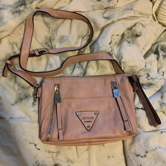 Guess Pink Crossbody Bag